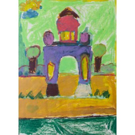 Moskee in groen - Bertus Bruns