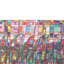 Huizen met puntdak - Richard Nijhuis